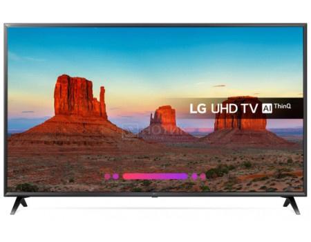 Фотография товара телевизор LG 55 LED, UHD, IPS, Smart TV (webOS 3.5) Звук (20 Вт (2x10 Вт)), 3xHDMI, 2xUSB, Черный, 55UK6300PLB (60798)