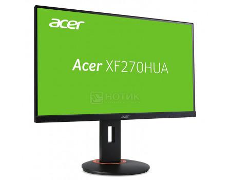 """Фотография товара монитор 27"""" Acer XF270HUAbmiidprzx, WQXGA, IPS, 2xHDMI, DVI, DP, 4xUSB 3.0 Черный UM.HX0EE.A01 (60807)"""