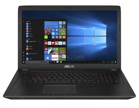 Фотография товара ноутбук ASUS FX753VD-GC456T (17.3 IPS (LED)/ Core i5 7300HQ 2500MHz/ 6144Mb/ HDD+SSD 1000Gb/ NVIDIA GeForce® GTX 1050 2048Mb) MS Windows 10 Home (64-bit) [90NB0DM3-M08780] (60834)