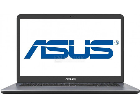 Фотография товара ноутбук ASUS VivoBook 17 X705UF-GC011T (17.3 IPS (LED)/ Core i3 7100U 2300MHz/ 4096Mb/ HDD 1000Gb/ NVIDIA GeForce® MX130 2048Mb) MS Windows 10 Home (64-bit) [90NB0IE2-M01240] (60848)