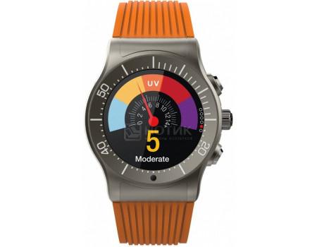 Фотография товара смарт-часы MyKronoz ZeSport, BT, 350 мАч, IP-66, Титан/Оранжевый KRZESPORT-ORANGE (60877)
