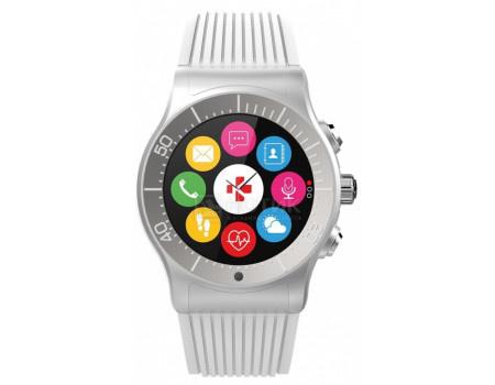 Фотография товара смарт-часы MyKronoz ZeSport, BT, 350 мАч, IP-66, Серебристый/Белый KRZESPORT-WHITE (60878)