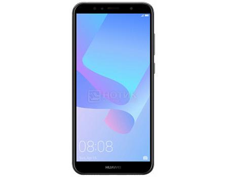 "Фотография товара смартфон Huawei Y6 Prime 2018 Black (Android 8.0 (Oreo)/MSM8917 1400MHz/5.70"" 1440x720/2048Mb/16Gb/4G LTE ) [51092KQF] (60879)"