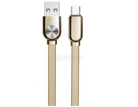 Фотография товара кабель JOYROOM, USB - USB Type-C, 1м, Dawn Series, Золотистый S-M339a Gold (60896)