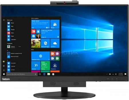"""Фотография товара монитор 23,8"""" Lenovo TIO 24, FHD, IPS, 1xDP, 2xUSB 3.0, 2xUSB 2.0 Черный 10QYPAT1EU (60908)"""