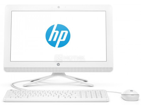Фотография товара моноблок HP 20-c401ur (19.5 TN (LED)/ Celeron Dual Core J4005 2000MHz/ 4096Mb/ HDD 500Gb/ Intel UHD Graphics 600 64Mb) Free DOS [4GU78EA] (60912)