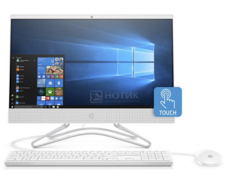 Фотография товара моноблок HP 22-c0037ur (21.5 IPS (LED)/ Core i5 8250U 1600MHz/ 8192Mb/ HDD+SSD 1000Gb/ NVIDIA GeForce® MX110 2048Mb) MS Windows 10 Home (64-bit) [4GS16EA] (60914)