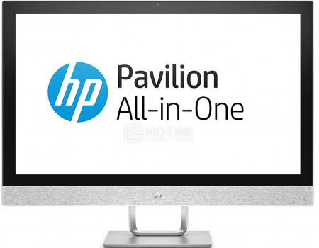 Фотография товара моноблок HP Pavilion 27-r119ur (27.0 IPS (LED)/ Core i7 8700T 2400MHz/ 12288Mb/ HDD+SSD 1000Gb/ AMD Radeon 530 2048Mb) MS Windows 10 Home (64-bit) [4HE88EA] (61019)