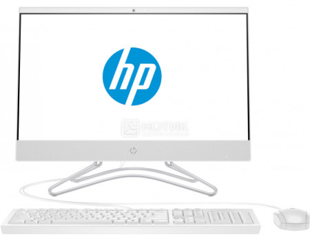 Моноблок HP 22-c0009ur (21.50 IPS (LED)/ Celeron Dual Core J4005 2000MHz/ 4096Mb/ HDD 500Gb/ Intel UHD Graphics 600 64Mb) Free DOS [4GV07EA] фото