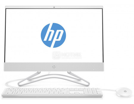 Фотография товара моноблок HP 20-c406ur (19.5 TN (LED)/ Core i3 7130U 2700MHz/ 8192Mb/ HDD 1000Gb/ Intel HD Graphics 620 64Mb) MS Windows 10 Home (64-bit) [4HF10EA] (61054)