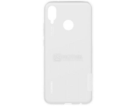 Купить чехол-накладка NILLKIN для смартфона Huawei P20 Lite, Пластик, Белый 6902048156364 (61068) в Москве, в Спб и в России