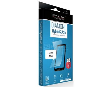 Фотография товара защитное стекло MyScreen DIAMOND HybridGLASS EA Kit для смартфона Huawei P20 Lite, Прозрачный M3705HG (61080)