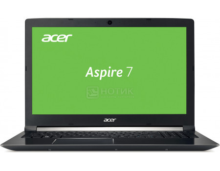 Купить ноутбук Acer Aspire 7 A717-71G-76YX (17.3 TN (LED)/ Core i7 7700HQ 2800MHz/ 8192Mb/ HDD+SSD 1000Gb/ NVIDIA GeForce® GTX 1050 2048Mb) Linux OS [NH.GTVER.004] (61171) в Москве, в Спб и в России