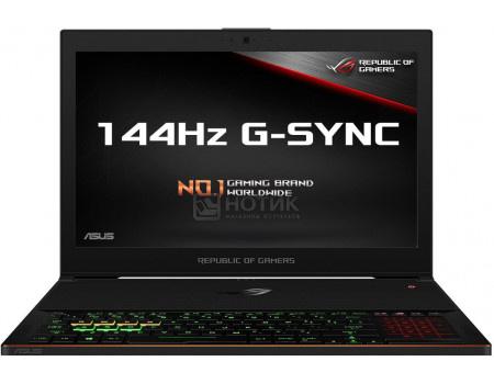 Фотография товара ноутбук ASUS ROG ZEPHYRUS GX501GI-EI040T (15.6 IPS (LED)/ Core i7 8750H 2200MHz/ 16384Mb/ SSD / NVIDIA GeForce® GTX 1080 в дизайне MAX-Q 8192Mb) MS Windows 10 Home (64-bit) [90NR00A1-M01390] (61310)