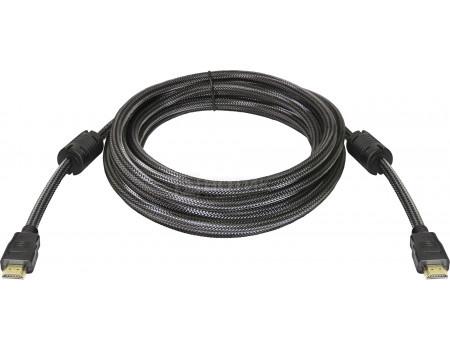 Фотография товара кабель Defender HDMI-17PRO HDMI (M) - HDMI (M), ver 1.4, 5м Черный 87460 (61372)