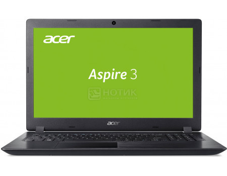 Фотография товара ноутбук Acer Aspire 3 A315-21-65QL (15.6 TN (LED)/ A6-Series A6-9225 2600MHz/ 6144Mb/ HDD 1000Gb/ AMD Radeon R4 series 64Mb) Linux OS [NX.GNVER.033] (61379)