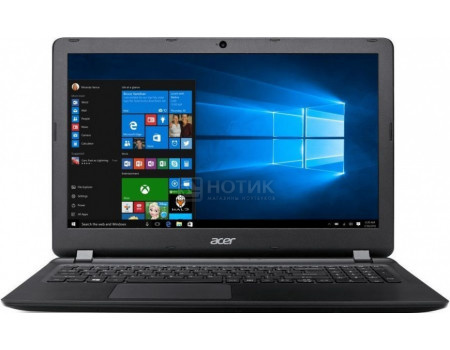 Фотография товара ноутбук Acer Aspire ES1-523-294D (15.6 TN (LED)/ E-Series E1-7010 1500MHz/ 4096Mb/ HDD 500Gb/ AMD Radeon R2 series 64Mb) MS Windows 10 Home (64-bit) [NX.GKYER.013] (61429)