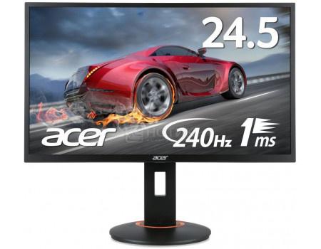 """Фотография товара монитор 24,5"""" Acer XF250Qbmidprx, FHD, TN, HDMI, DVI, DP, Черный UM.KX0EE.001 (61447)"""