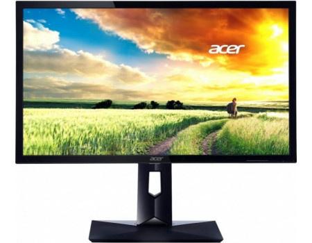 """Монитор 27"""" Acer CB271HKAbmidprx, UHD, IPS, HDMI, DP, DVI, 4xUSB 3.0 Черный UM.HB1EE.A05 фото"""