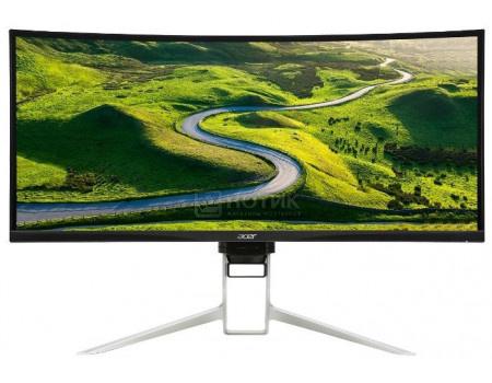 """Фотография товара монитор 37,5"""" Acer XR382CQKBMIJQPHUZX, UW-QHD+ , IPS, Curved, HDMI, 2xDP, 4xUSB 3.0, 1x USB Type-C, Черный UM.TX2EE.009 (61479)"""