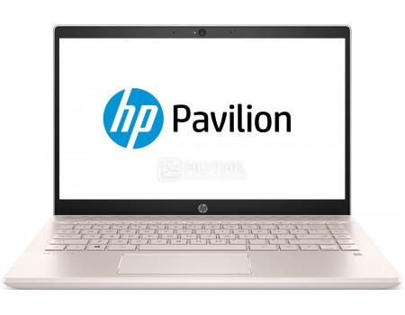 Купить ноутбук HP Pavilion 14-ce0005ur (14.0 IPS (LED)/ Core i3 8130U 2200MHz/ 4096Mb/ Hybrid Drive 1000Gb/ Intel UHD Graphics 620 64Mb) MS Windows 10 Home (64-bit) [4GY05EA] (61551) в Москве, в Спб и в России