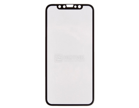 Фотография товара защитное стекло + Чехол  WK для смартфона Apple iPhone X, 3D, Черный 0L-00034845 (61653)