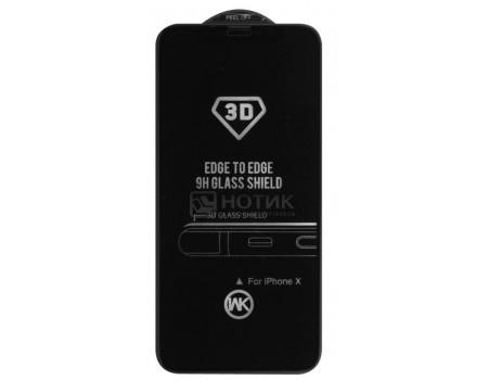 Фотография товара защитное стекло + Чехол WK для смартфона Apple iPhone X, 3D, Черный 0L-00035700 (61654)