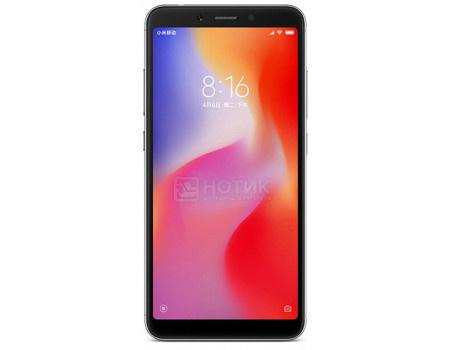 "Фотография товара смартфон Xiaomi Redmi 6 64Gb Black (Android 8.0 (Oreo)/MT6762 2000MHz/5.5"" 1440x720/4096Mb/64Gb/4G LTE ) [X19854] (61675)"