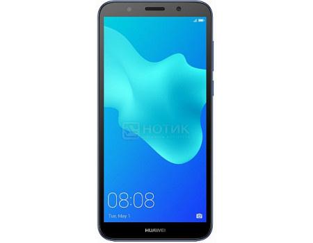 "Фотография товара смартфон Huawei Y5 Prime 2018 Blue (Android 8.1 (Oreo)/MT6739 1500MHz/5.45"" 1440x720/2048Mb/16Gb/4G LTE ) [6901443236718] (61764)"