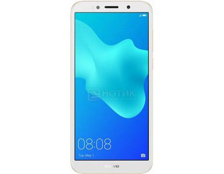 "Фотография товара смартфон Huawei Y5 Prime 2018 Gold (Android 8.1 (Oreo)/MT6739 1500MHz/5.45"" 1440x720/2048Mb/16Gb/4G LTE ) [6901443236725] (61765)"