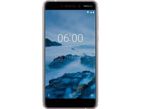 "Фотография товара смартфон Nokia 6.1 32Gb White (Android 8.1 (Oreo)/SDM630 2200MHz/5.50"" 1920x1080/3072Mb/32Gb/4G LTE ) [11PL2W01A02] (61768)"