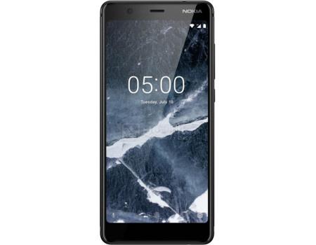 "Фотография товара смартфон Nokia 5.1 DS 16Gb Black (Android 8.0 (Oreo)/MT6750N 2000MHz/5.50"" 2160x1080/2048Mb/16Gb/4G LTE ) [11CO2B01A09] (61852)"