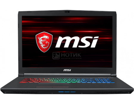 Фотография товара ноутбук MSI GF72 8RE-043RU (17.30 TN (LED)/ Core i7 8750H 2200MHz/ 16384Mb/ HDD+SSD 1000Gb/ NVIDIA GeForce® GTX 1060 6144Mb) MS Windows 10 Home (64-bit) [9S7-179E22-043] (61941)