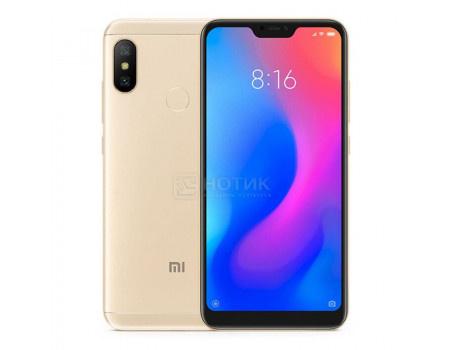 "Фотография товара смартфон Xiaomi Mi A2 Lite 32Gb Gold (Android 8.1 (Oreo)/MSM8953 2000MHz/5.8"" 2280x1080/3072Mb/32Gb/4G LTE ) [X19051] (62031)"