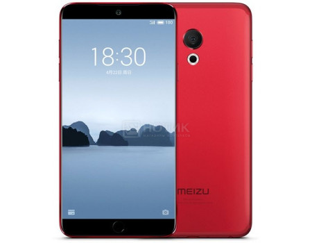 "Фотография товара смартфон Meizu 15 Lite 32Gb Red (Android 7.1 (Nougat)/MSM8953Pro 2200MHz/5.46"" 1920x1080/4096Mb/32Gb/4G LTE ) [M871H-32-RED] (62055)"