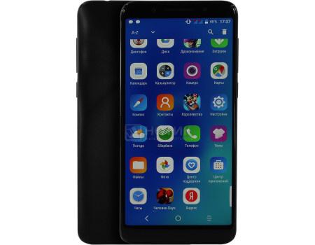 """Фотография товара смартфон Alcatel 3x 5058i Black (Android 7.1 (Nougat)/MT6739 1300MHz/5.7"""" 1440x720/3072Mb/32Gb/4G LTE ) [5058I-2AALRU1] (62094)"""