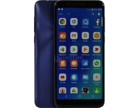 """Фотография товара смартфон Alcatel 3x 5058i Blue (Android 7.1 (Nougat)/MT6739 1300MHz/5.7"""" 1440x720/3072Mb/32Gb/4G LTE ) [5058I-2BALRU1] (62095)"""