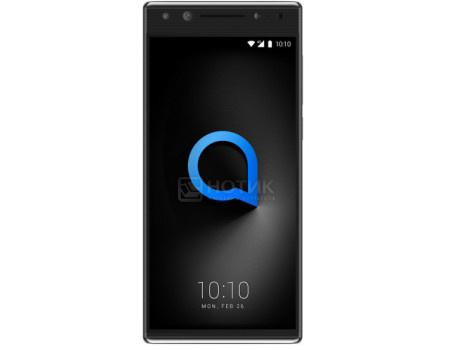 """Фотография товара смартфон Alcatel 5 5086D Black (Android 7.1 (Nougat)/MT6750 1500MHz/5.7"""" 1440x720/3072Mb/32Gb/4G LTE ) [5086D-2AALRU7] (62097)"""
