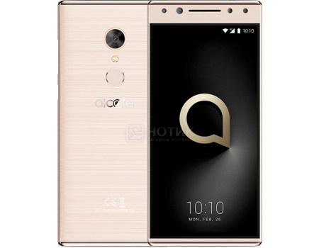 """Фотография товара смартфон Alcatel 5 5086D Gold (Android 7.1 (Nougat)/MT6750 1500MHz/5.7"""" 1440x720/3072Mb/32Gb/4G LTE ) [5086D-2BALRU7] (62098)"""