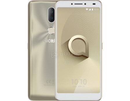 """Фотография товара смартфон Alcatel 3V 5099D Gold (Android 7.1 (Nougat)/MT8735 1450MHz/6.0"""" 2160x1080/2048Mb/16Gb/4G LTE ) [5099D-2BALRU2] (62106)"""