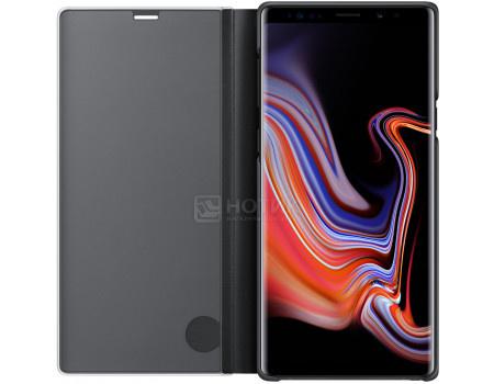 Фотография товара чехол-книжка Samsung Clear View Standing Cover для Samsung Galaxy Note 9, Поликарбонат, Black, Черный, EF-ZN960CBEGRU (62154)