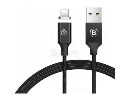 Фотография товара кабель Baseus Magnetic, USB - Lightning port Baseus, 1,2м, Черный CALNP-01 (62185)