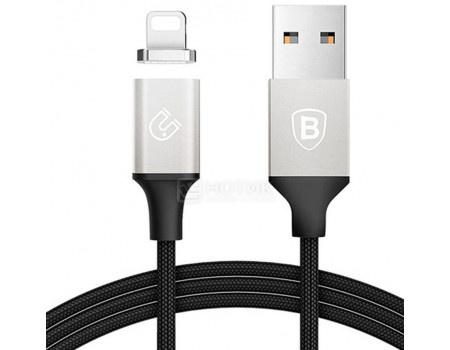 Фотография товара кабель Baseus Magnetic, USB - Lightning port Baseus, 1,2м, Черный/Серебристый CALNP-S1 (62186)