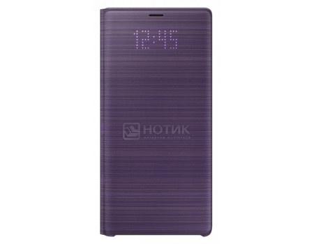Фотография товара чехол-книжка Samsung LED View Cover для Samsung Galaxy Note 9, Поликарбонат, Violet, Фиолетовый, EF-NN960PVEGRU (62219)
