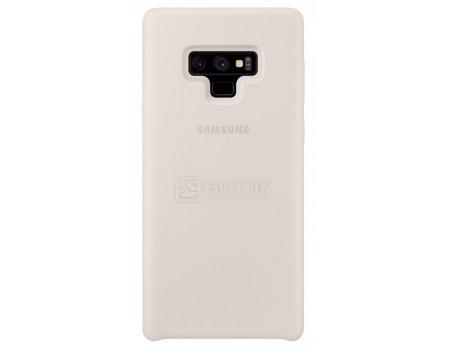 Фотография товара чехол-накладка Samsung Silicone Cover для Samsung Galaxy Note 9, Силикон, White, Белый, EF-PN960TWEGRU (62224)