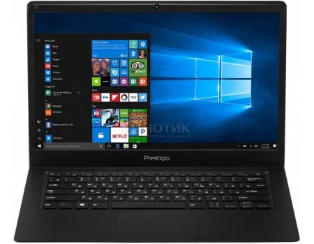 Фотография товара ноутбук Prestigio SmartBook 141 C2 (14.10 IPS (LED)/ Celeron Dual Core N3350 1100MHz/ 3072Mb/ SSD / Intel HD Graphics 500 64Mb) MS Windows 10 Home (64-bit) [PSB141C02ZFH_BK_CIS] (62233)