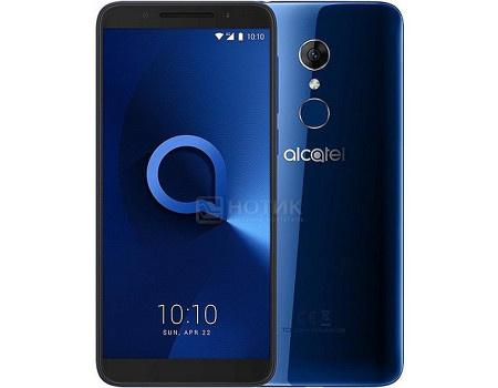 "Фотография товара смартфон Alcatel 3 5052D Blue (Android 8.0 (Oreo)/MT6739 1300MHz/5.5"" 1440x720/2048Mb/16Gb/4G LTE ) [5052D-2BALRU7] (62265)"