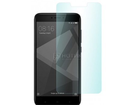 Фотография товара защитное стекло skinBOX для смартфона Xiaomi Redmi 6, Черный 4660041405439 (62270)