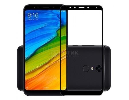 Фотография товара защитное стекло skinBOX для смартфона Xiaomi Redmi 5 Plus, Черный 4660041404166 (62280)