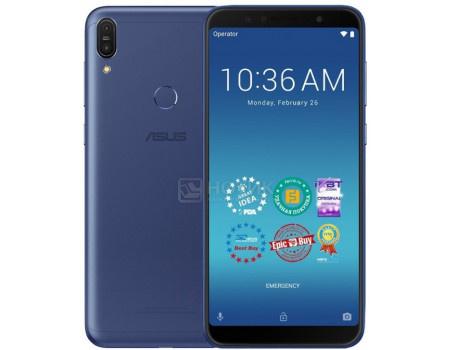 "Фотография товара смартфон ASUS Zenfone Max Pro M1 ZB602KL 64Gb Ram 4Gb (Android 8.1 (Oreo)/SDM636 1800MHz/6.00"" 2160x1080/4096Mb/64Gb/4G LTE ) [90AX00T3-M01310] (62283)"